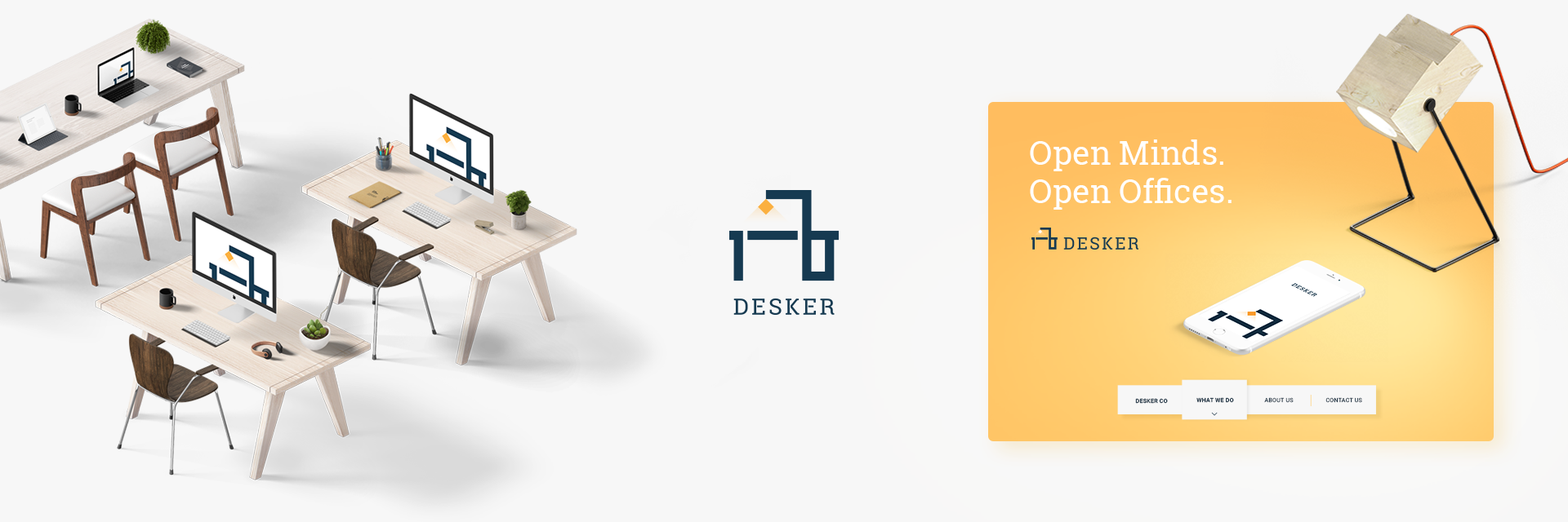 Branding and Digital design, web, ui/ux for a cloud based office service